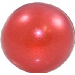 Perle ronde Rouge nacré