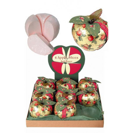 Pomme effervescente or (4 tranches de 100 g)