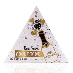 Calendrier du compte à rebours du nouvel an Cosmétiques tentation cosmetic