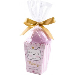 Set boule de bain effervescente PRINCESS KITTY