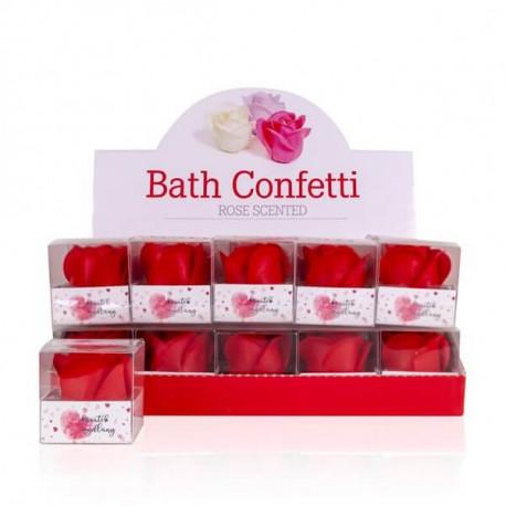 Rose en papier de savon display rose collection Tentation Cosmetic