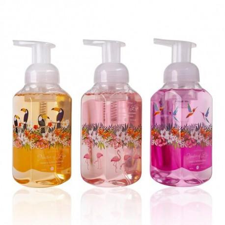 Distributeur Mousse lavante pour les mains et la douche NECTAR OF LIFE Tentation Cosmetic