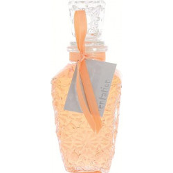 Bain moussant MONACO 150ml, Abricot transparent, déco : Ruban