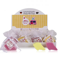 Savon au lait de brebis Glace SWEET MOMENTS Tentation Cosmetic