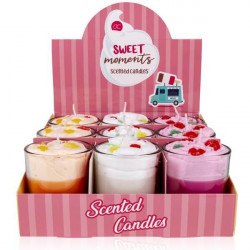 Bougie gourmande SWEET MOMENTS Tentation Cosmetic