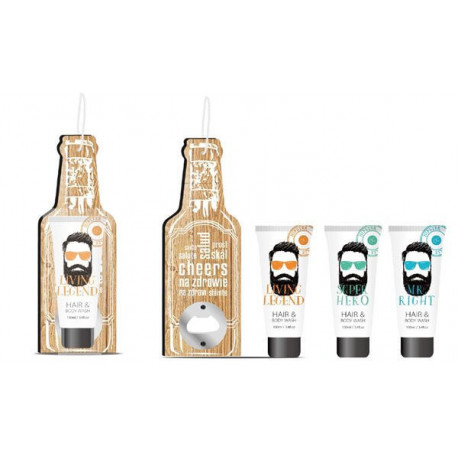 Set HIPSTER STYLE gel douche & cheveux