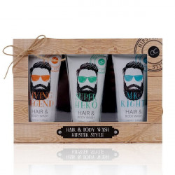 Coffret HIPSTER STYLE gel douche & cheveux