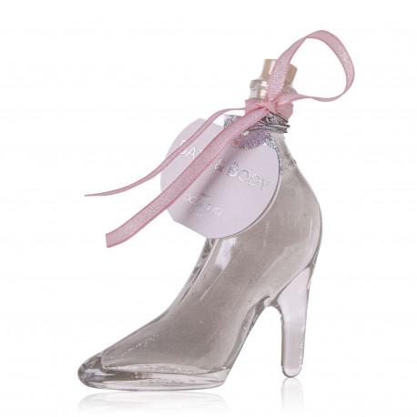 424135-tentation-cosmetic-grossiste-bain-moussant-chaussure-argent-nacre-paillete