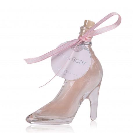 424615-tentation-cosmetic-grossiste-bain-moussant-chaussure-rose-nacre-paillete