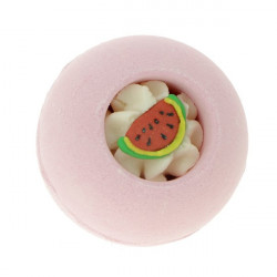 Boule effervescente pour le bain PINK FLAMINGO