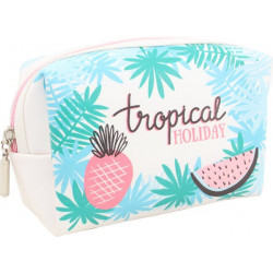 Trousse de toilette TROPICAL HOLIDAY (17.5x11.5x6 cm)