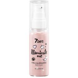 7 DAYS ILLUMINATE ME Fluide illuminateur visage 4 en 1 ROSE GIRL (Shade 01 Champ
