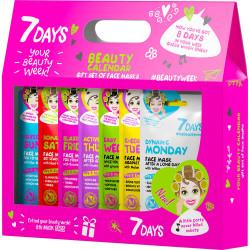Coffret 7DAYS Beauty Calendar,Une semaine de soin