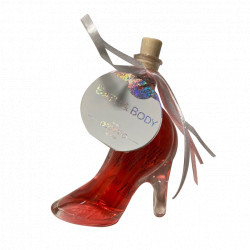 Bain moussant CHAUSSURE Rouge transparent - 40ml Tentation Cosmetic