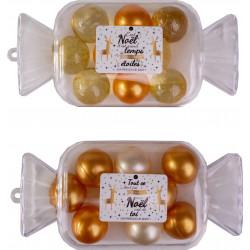 Set de perles de bain WINTER MAGIC