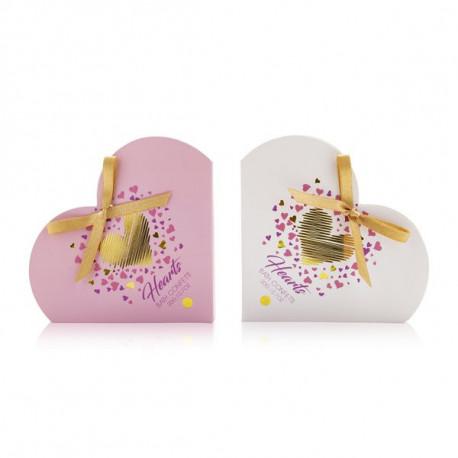 Confettis en papier de savon HEARTS