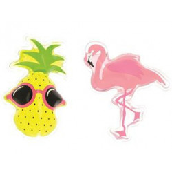Berlingots de gel douche Flamant rose-Ananas