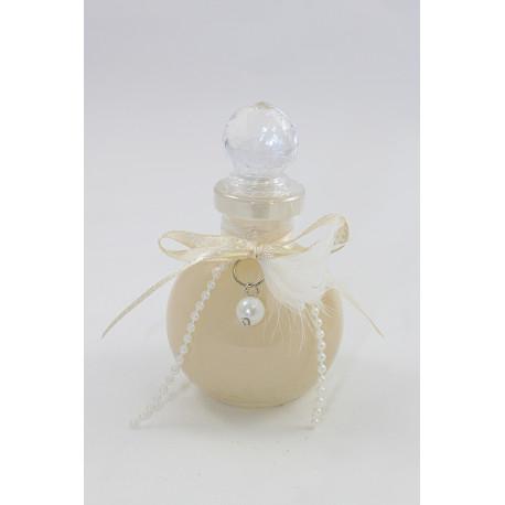 ERIS 110 ml, Transparent, déco : Plume/Perle